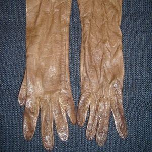 Other - Vintage Ladies Kid Leather Gloves